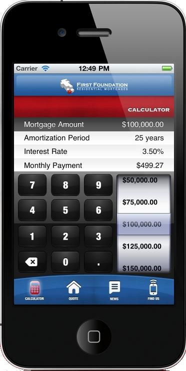 iphone mortgage calculator app for canada