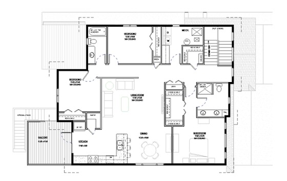 Alair Homes Pilot Butte Floor Plan