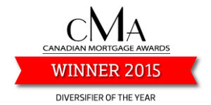Canadian Mortgage Awards 2015 Winner