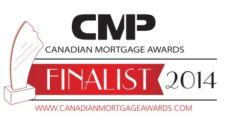 CMP Magazine 2014 Canadian Mortgage Awards Finalist Badge