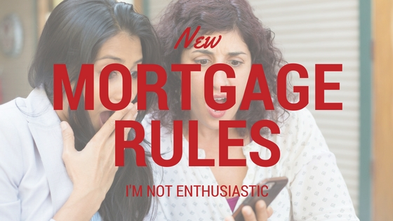 Canadian Mortgage Rule Changes