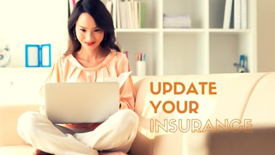 Update your home insurance