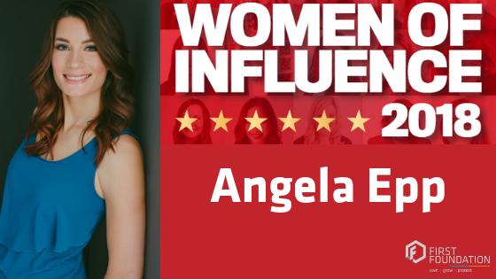 Angela Epp CMP Woman of Influence