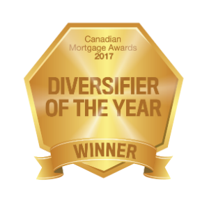 Canadian Mortgage Awards 2017 Winner